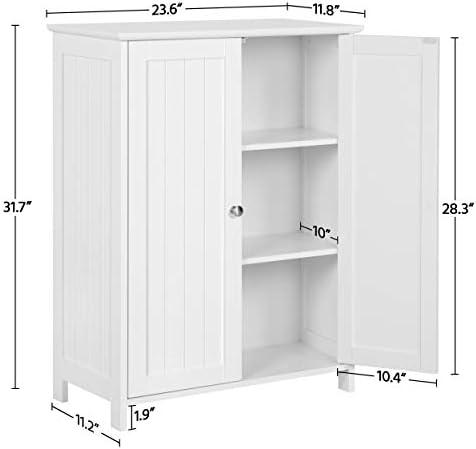 home, kitchen, furniture, bathroom furniture,  bathroom sets 11 discount Yaheetech Bathroom Floor Storage Cabinet Space Saver Organizer promotion