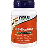 Now Foods Gr8-Dophilus, 60 caps ( Multi-Pack)