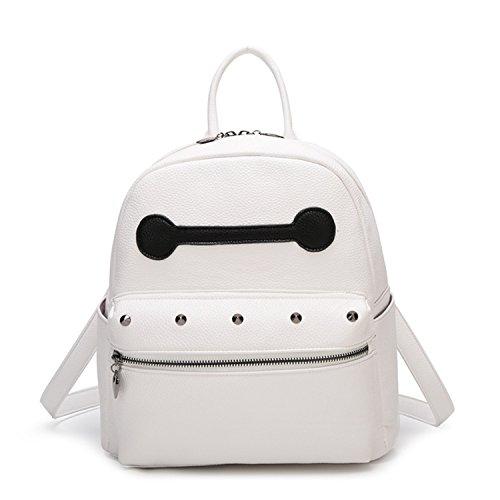AnnaSue 2015 Frühjahr und Sommer Burst- Modellen Niet Umhängetasche Umhängetasche niedlichen Mini kleine weiße Umhängetasche kleinen Rucksack Namen