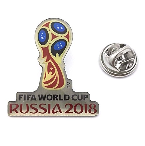FIFA World Cup Russia 2018 Logo Pin (Silver and Color)