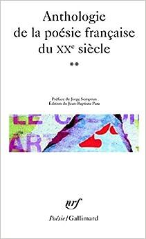 Anthologie De La Poésie Française Du Xxᵉ Siècle por Collectifs epub