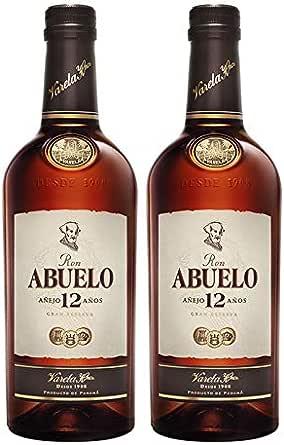 Ron Abuelo Añejo 12 Años de 70 cl - Elaborado en Panama ...