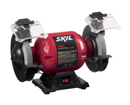 Factory-Reconditioned SKIL 3380-01-RT 6-Inch Bench Grinder by Skil