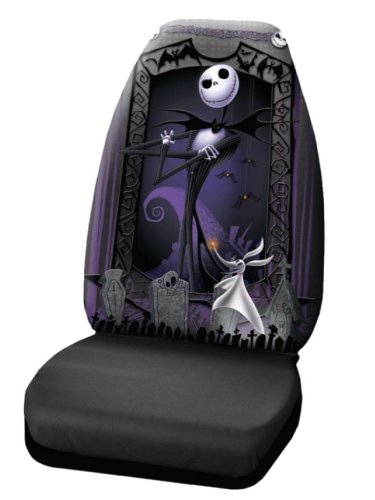 Plasticolor 006949R01'Nightmare Before Christmas' Seat Cover Plasticolor 006949R01Nightmare Before Christmas Seat Cover