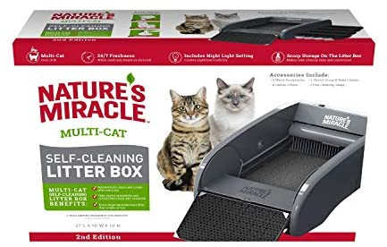 Natures Miracle Multi Cat Self Cleaning Litter