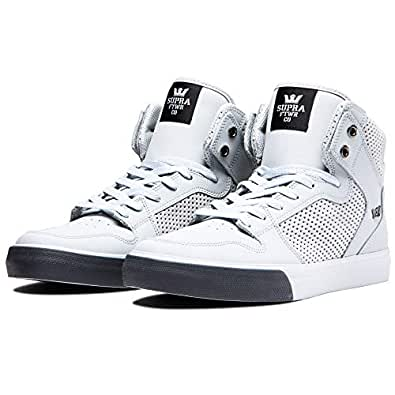 Supra Footwear - Vaider, Lt Grey-Lt Grey/Dk Grey, 5.5 M US