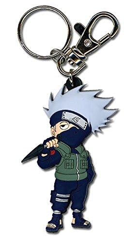 Great Eastern Entertainment Naruto Shippuden SD Kakashi PVC Keychain