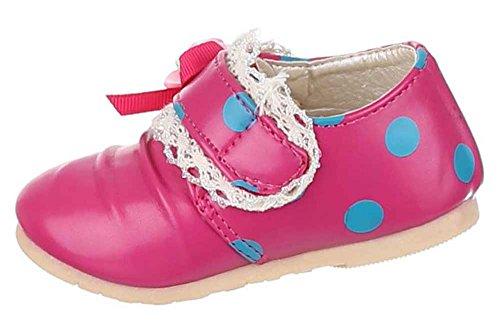 Kinderschuhe Ballerinas Mit Deko Verzierte Pink