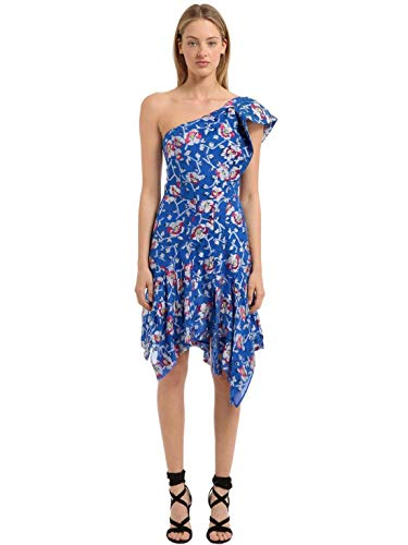 e685c0f0fb Isabel Marant Laminated Floral Jacquard Navy Authentic $2340 Dress Size M