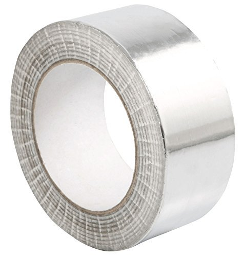 STERR - Aluminum foil duct tape self-adhesive silver 1.9 inch x 150 feet by STERR