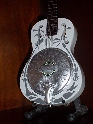 Mini Guitar DIRE STRAITS MARK KNOPFLER Resonator Display Gift