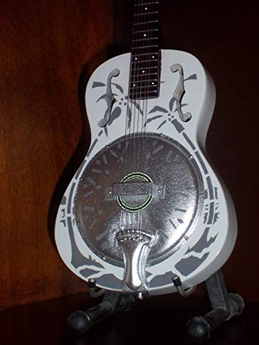 Mini Guitarra DIRE STRAITS MARK KNOPFLER Resonator Figurilla Presente: Amazon.es: Hogar
