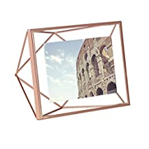 Umbra Prisma 4-Inch by 6-Inch Picture Frame, Copper
