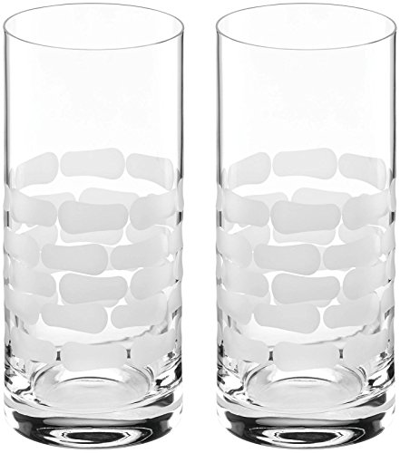 Michael Wainwright Truro Frosted Hiball, Clear - Frosted Highball Glass