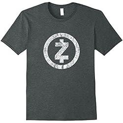 Mens Vintage Zcash Shirt - Cryptocurrency ZEC T-shirt 3XL Dark Heather