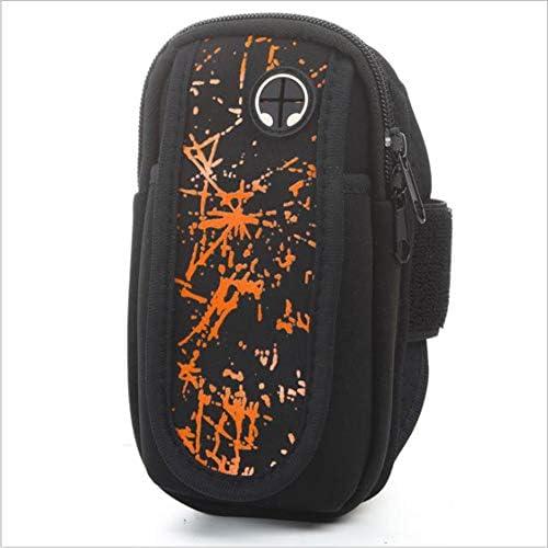 男性/女性用の携帯電話の腕章、ランニング用の快適で 携帯電話の腕章、ジムのトレーニング携帯電話の腕章の袖(3.5-6.0