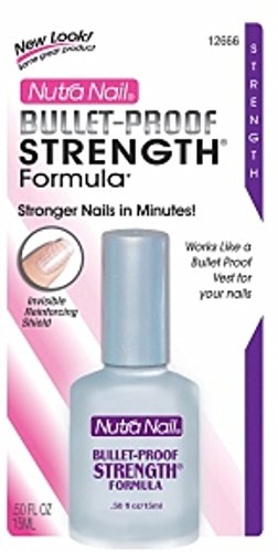 Nutra Nail Bullet-Proof Strengthening Formula 0.5 oz (Pack of 4)