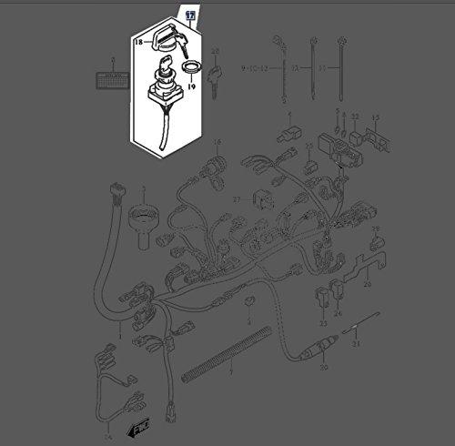 Suzuki LTA750 King Quad KingQuad Ignition Key On Off Switch 37110-31G00 New OEM
