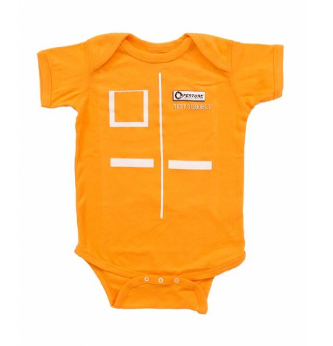 portal-2-aperture-test-subject-orange-infant-onesie-romper-0-6-months