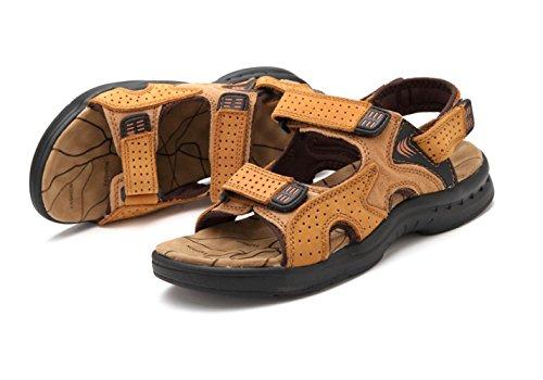 Hombre Zapatos De Casual Beach Outdoors Yellow Shoes Sandalias xqCwPSU6F
