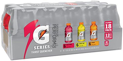 Gatorade Multipack 12oz bottles, 6 Lemon Lime, 6 Fruit Punch, 6 Orange