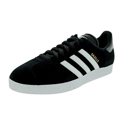 adidas - Zapatillas de piel para hombre negro - negro