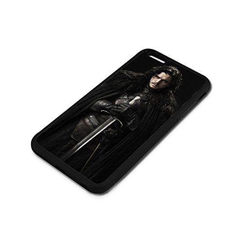 Cover iPhone 6 6S Plus Case,Game of Thrones Jon Snow [PC+ TPU] Case Cover iPhone 6 6S Plus 5.5-Inch Anti-Scratch Shock-Absorbing Bumper Back Panel Protective Cover Phone case-11 K0D1URQ
