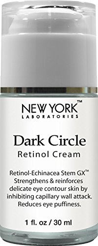 Price comparison product image New York Laboratories Dark Circle Eye Cream, 1 fl oz – Retinol Cream for Puffy Eyes, Dark Circles, Fine Lines and wrinkles