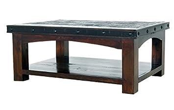Amazon.com: RR Rustic Gran Hacienda Coffee Table Solid ...
