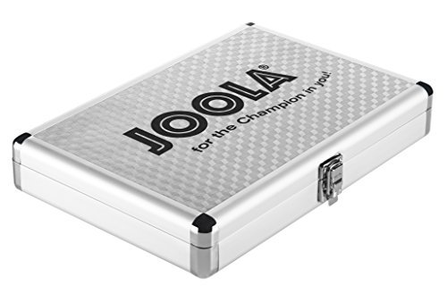 Joola Table Tennis Case Aluminium silver by Joola by JOOLA