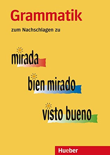 Grammatik Zum Nachschlagen  Zu Mirada – Bien Mirado – Visto Bueno   Grammatik Zum Nachschlagen  Die Mirada Familie
