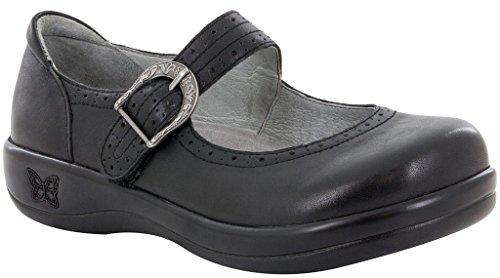 Alegria Women's Kourtney Black Nappa Mary Jane (KOU-601) Size: Euro 36 \ US 6-6.5
