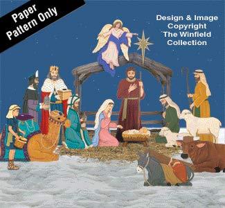 Complete Life-Size Nativity Pattern Set