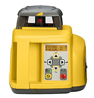 Spectra Precision Lasers / Trimble GL412 Single-Slope Grade Laser with Hl700 Laserometer, Rod Clamp, Rc402 Remote, 5 Ah Nimh Batteries and Charger