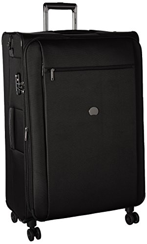 Delsey Luggage Montmartre+ 4 Wheel 29 inch Exp Lug, Black by DELSEY Paris