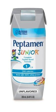 - Peptamen Junior Supplement, Unflavored, 202.80 Fluid Ounce by Peptamen, 24/CS