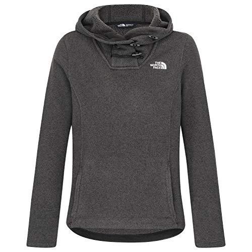 (The North Face Women's Crescent Hooded Pullover TNF Black Heather Medium)