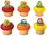 Kung Fu Panda Cupcake Toppers 12 Count