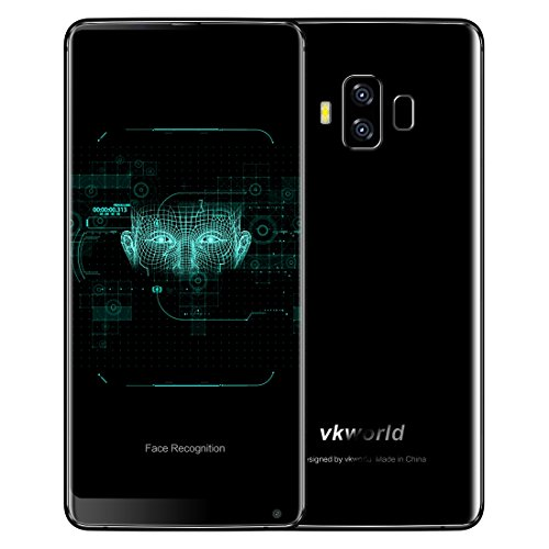 VKworld S8 4GB+64GB 5 99 inch Full Screen Android 7 0 MTK6750T Octa Core up  to 1 5GHz WCDMA & GSM & FDD-LTE (Black)