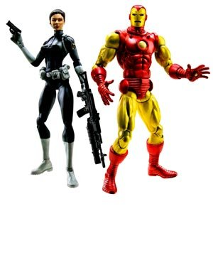 Marvel Legeneds Shield Leaders - Iron Man & Maria Hill