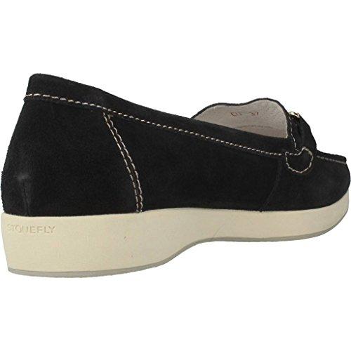 Mocasines para mujer, color Negro , marca STONEFLY, modelo Mocasines Para Mujer STONEFLY ML574 UTA Negro Negro