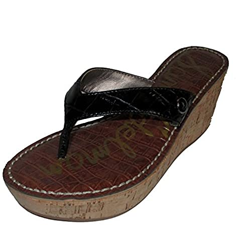 e88fb00b4 Sam Edelman Women s Romy Croc Wedge Sandals delicate - appleshack.com.au