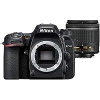 Nikon D7500 Digital SLR Camera with AFP VR Lens, Black, 18-55mm