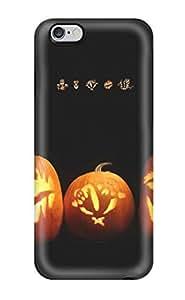 iphone 5c Case Slim [ultra Fit] Happy Pumpkin Lanterns Protective Case Cover(3D PC Soft Case)