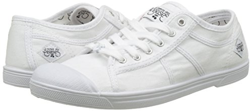 Weiß Damen Basic 02 Le Weiß Cerises Femme weiß Sneaker des Temps wqCx1p
