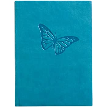 Eccolo Essential Collection 5 x 7 Inches Lined Journal, Butterfly