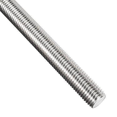 1 m Length Right Hand Threads Class 4.6 Steel Fully Threaded Rod M12-1.25 Thread Size