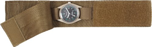 Coyote Brown Commando Nylon Watch Band, Watch Central