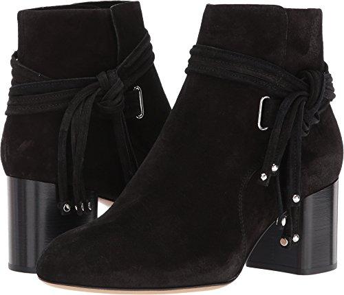 amp; Boot Suede rag Womens Black II Dalia bone zffqZd6