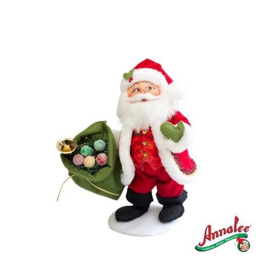 Amazon.de: 2012 Annalee Puppen * 22, 9 cm Weihnachten Delights Santa ...